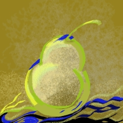 Pear - Corel Painter Digital Pastel