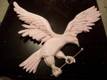 Eagle Mascot 2
