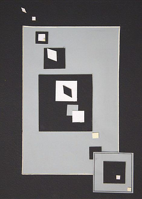 Geometric Rhythm - Paper Collage Project