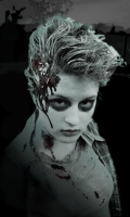 Christi Zombie Night Poster