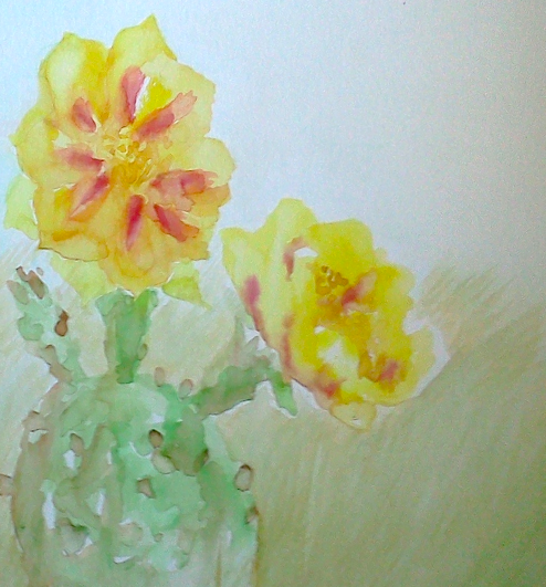 TX Wildflower Sketch 2