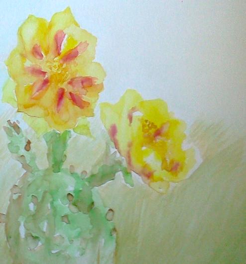 TX Wildflower Sketch 2