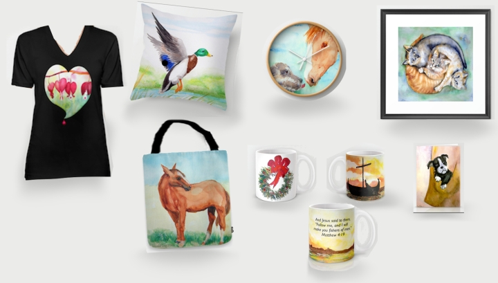 VF society6 items