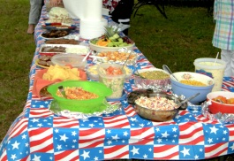 2014 food tables