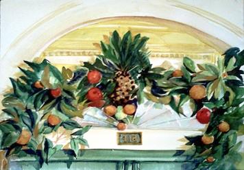 Corley's Pineapple Door