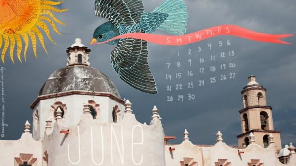 FIVE TUESDAYS! Calendar Courtesy of Geninne's Art Blog at http://blogdelanine.blogspot.com/