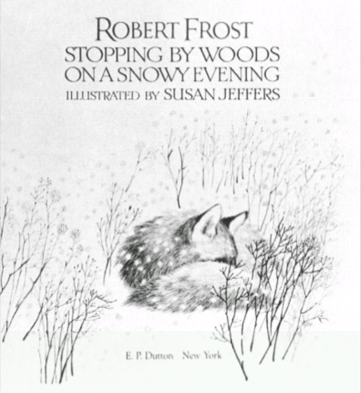 a comparison of robert frosts the road not taken and stopping by woods on a snowy evening