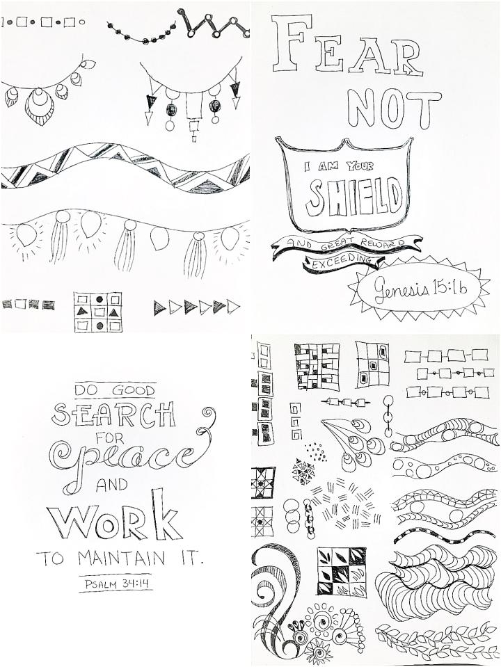 4 doodles 1