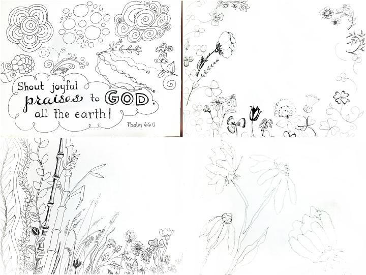 4 doodles 3
