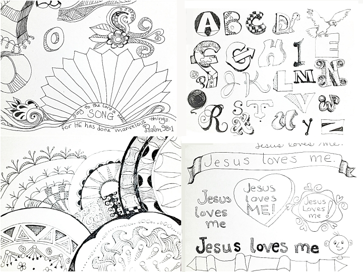 4 doodles 4